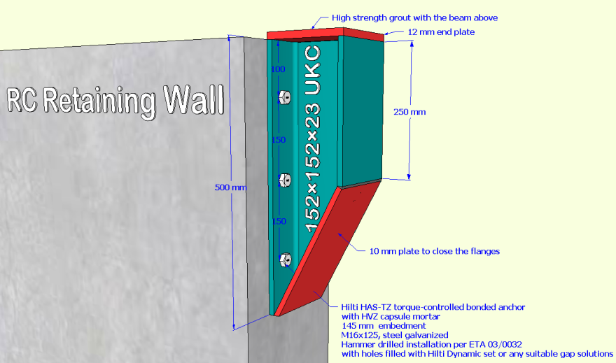 remedial-measure-of-a-100mm-shorter-wronly-done-rc-wall_2-gravesend-cycle-hub